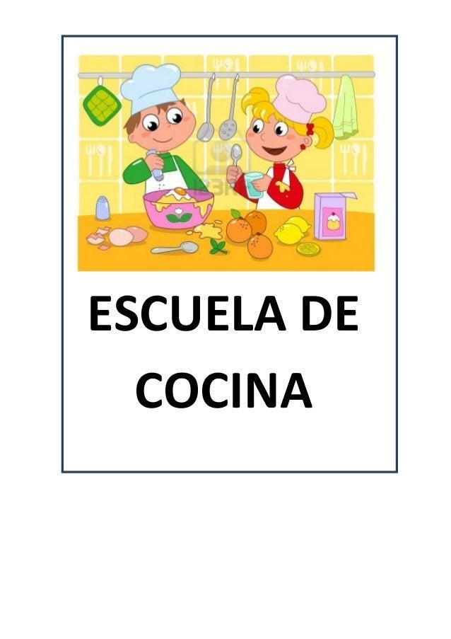 Proyecto escuela de cocina fichas y otros recursos for Proyecto cocina