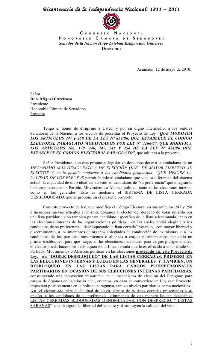 Bicentenario de la Independencia Nacional: 1811 – 2011                               C O N G R E S O N A C I O N A L      ...