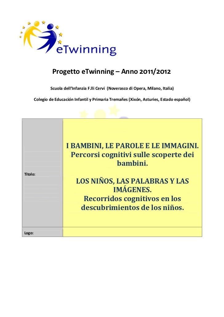 Proyecto e twinning 2011 2012ita