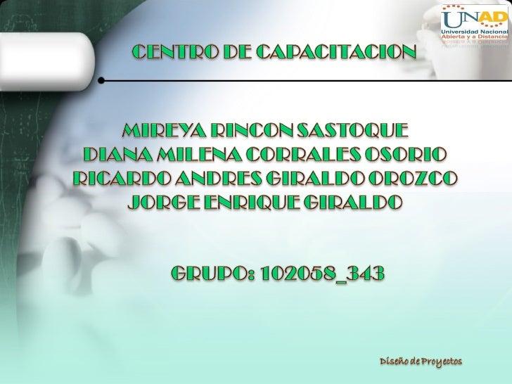 El municipio de Paradera Valle requiere de un Centro de Capacitación para niños que presentan algún tipo de discapacidad, ...