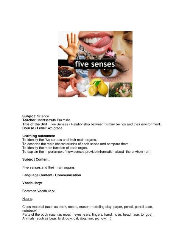 Five Senses (4to EB)
