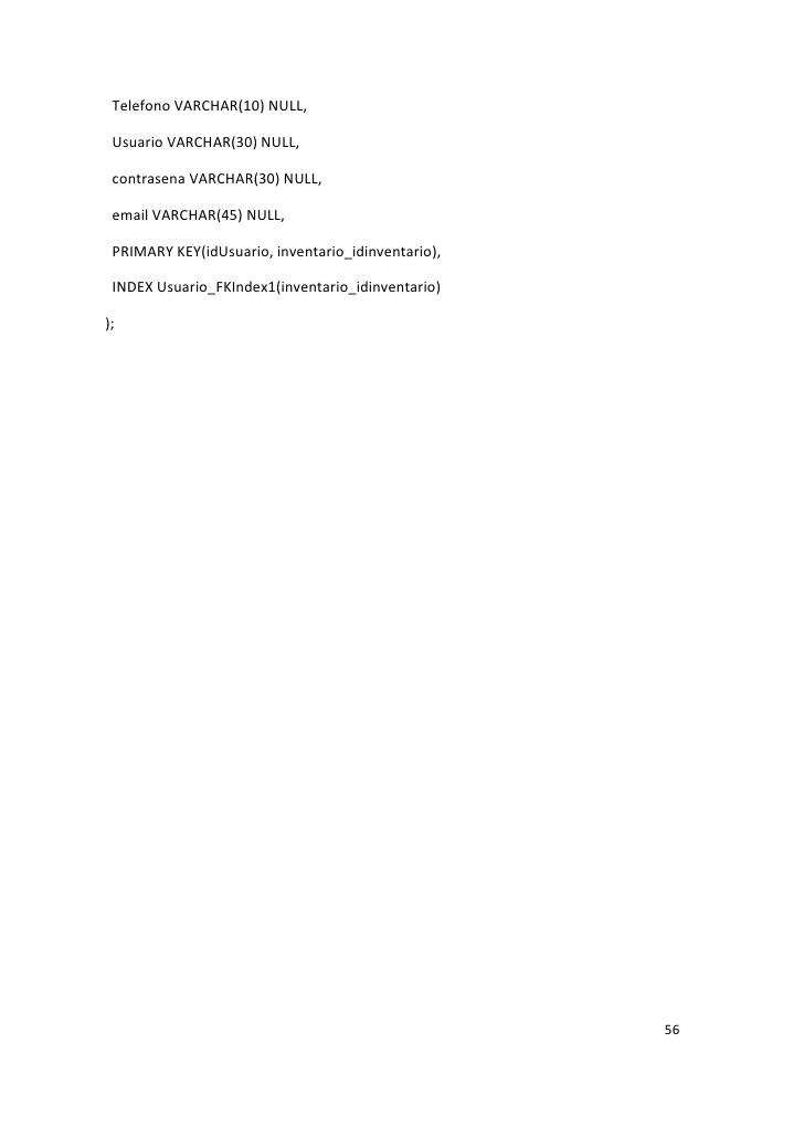 An�lisis y Dise�o de un Sistema de Control de entradas y salidas de a�