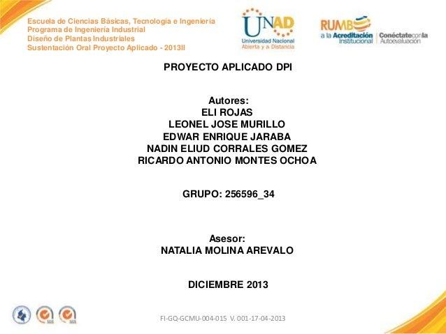Proyecto final dpi grupo 34