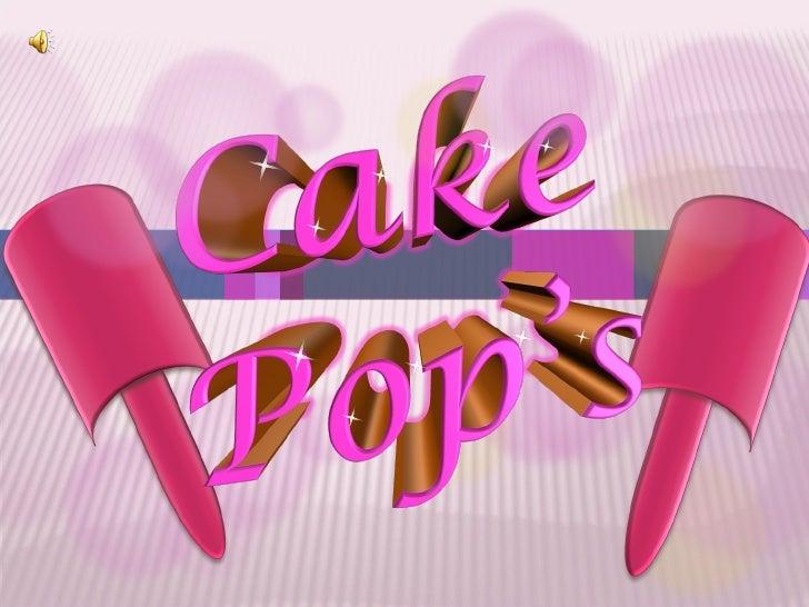 Cake Pop's