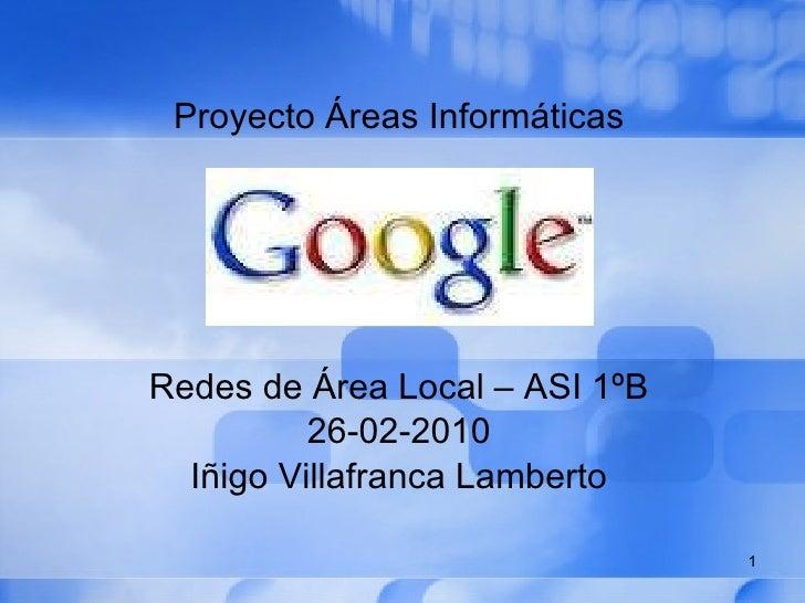 Presentacion sobre Google