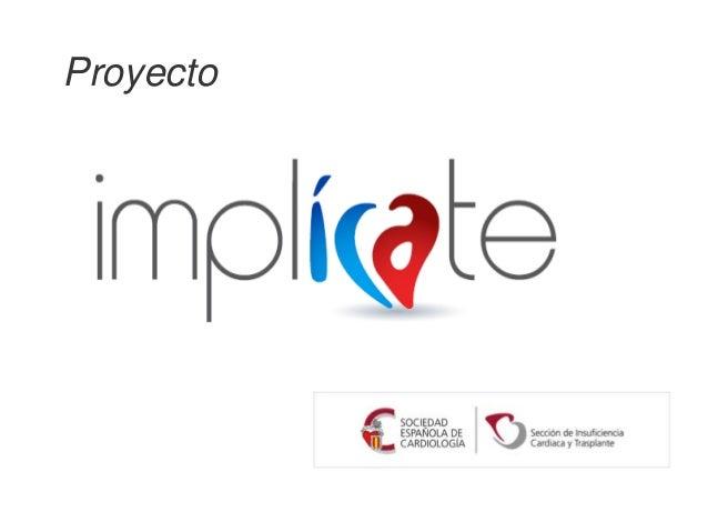Proyecto ImplICAte: insuficiencia cardiaca aguda