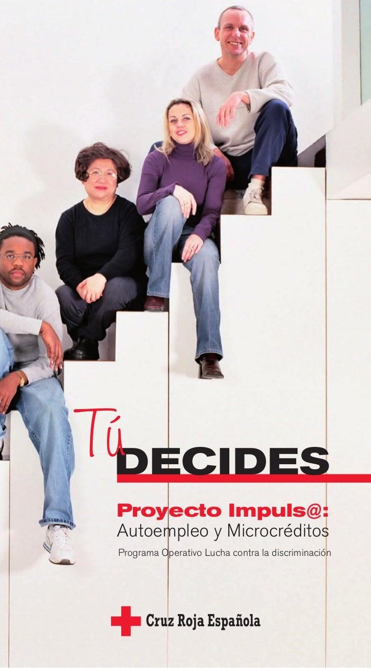 Proyecto impuls@ autoempleo y microcréditos