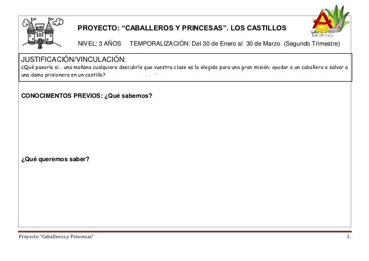 Proyecto infantil los castillos - Castillos para ninos de infantil ...