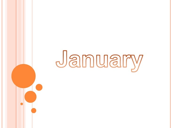 January<br />