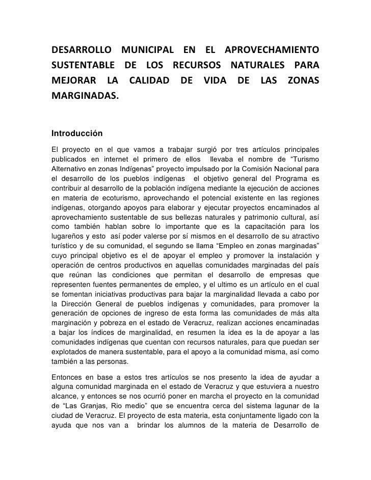 Proyecto: Lirios Acuaticos.