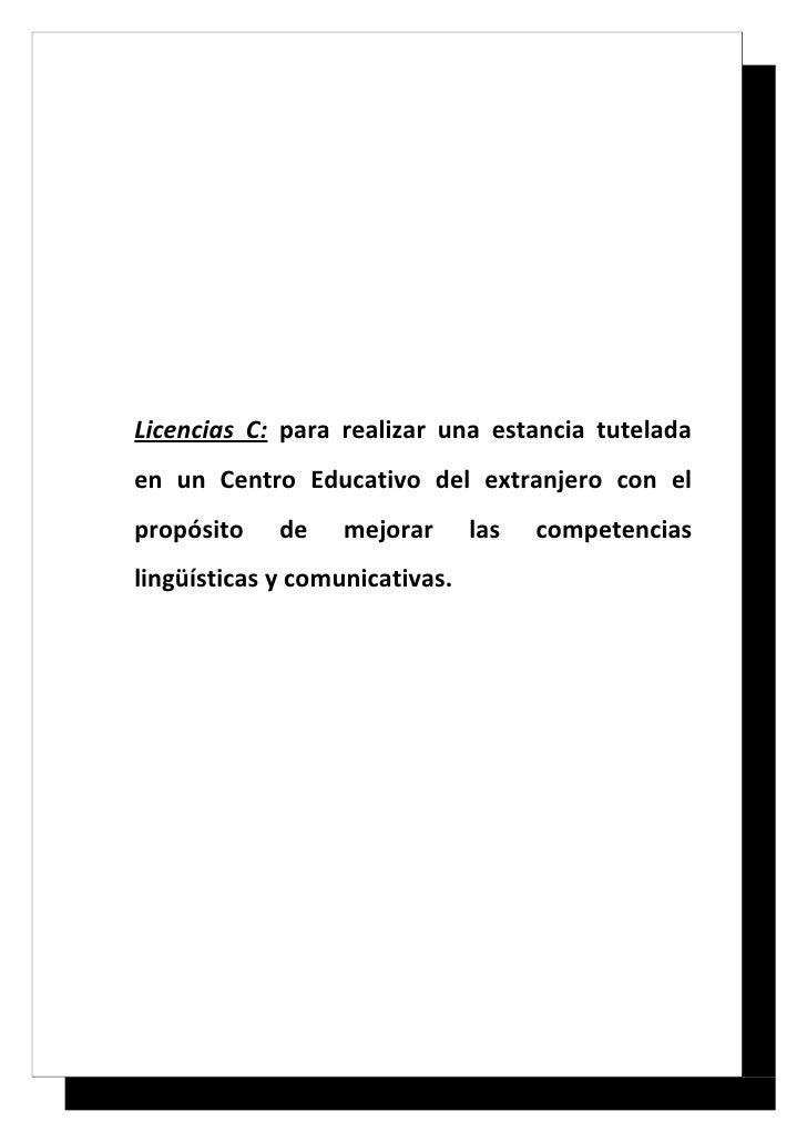 Proyecto Licencias de Estudios