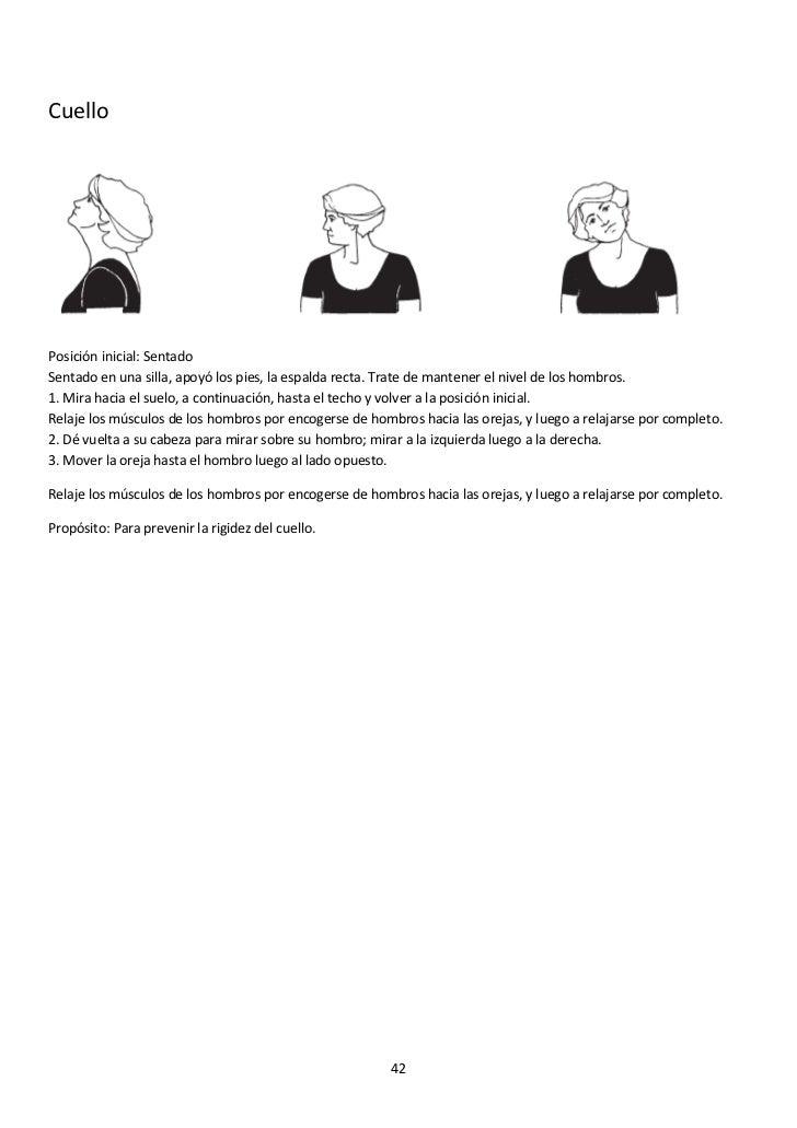 El dolor en la espalda a la inclinación de cabeza a la derecha