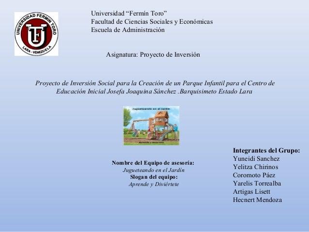 """Universidad """"Fermín Toro""""                   Facultad de Ciencias Sociales y Económicas                   Escuela de Admini..."""