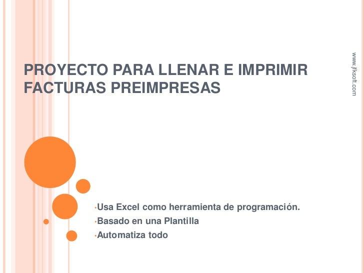 Sistema Para Imprimir Facturas Preimpresas Autollenar | apexwallpapers ...