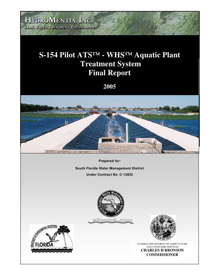 Proyecto Piloto 2005 Hmi  S154 Pilot Two Stage Ats Whs Aquatic Plant