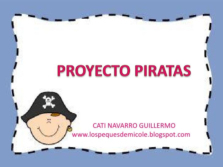Mapa De Proyectos Para Ninos Piratas