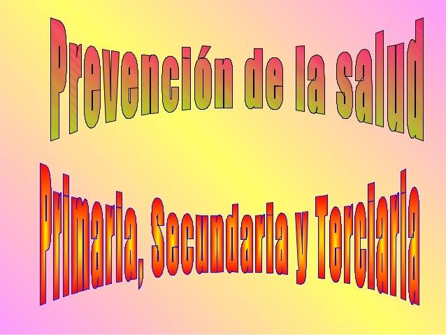 LaOrganización Mundial de la Salud(OMS) Define 3 niveles de prevención como objetivo de la Medicina del Trabajo: Prevenc...