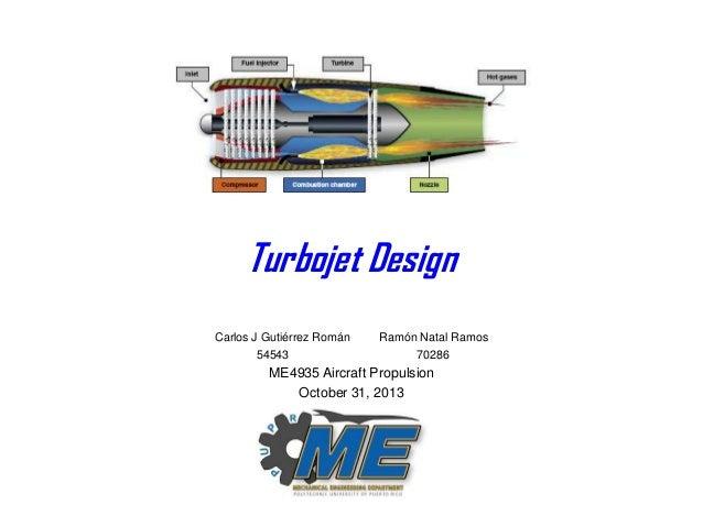 Turbojet Design Project