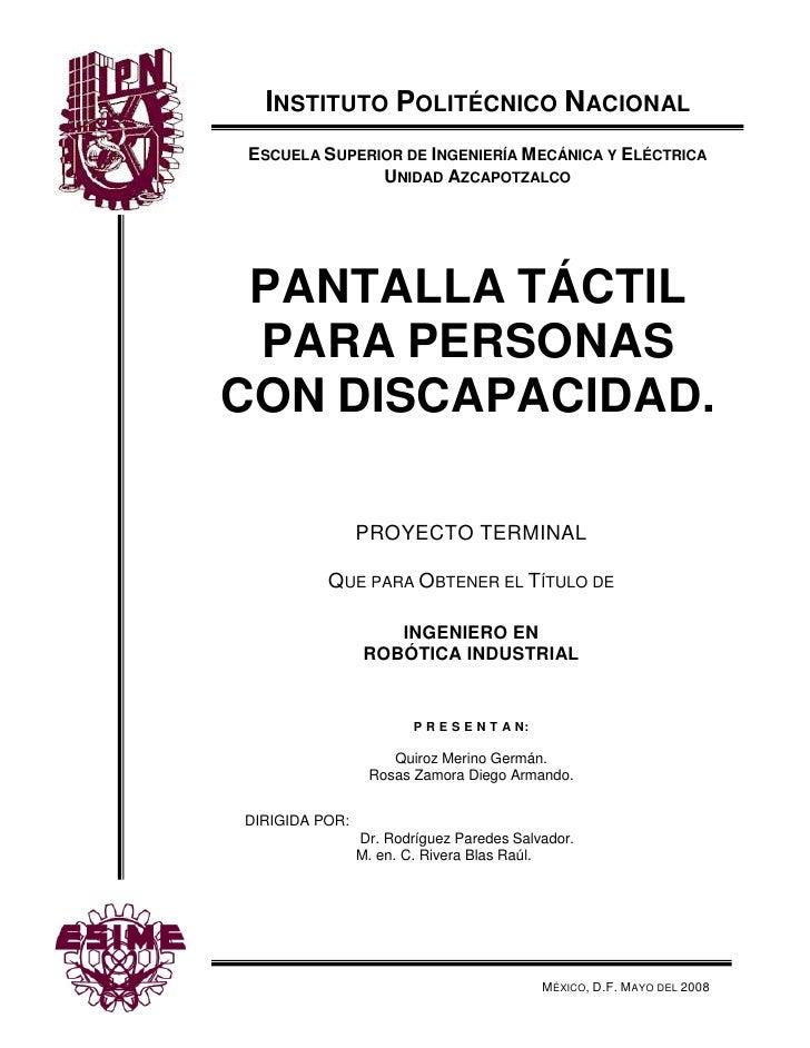 P R E S E N T A N:Quiroz Merino Germán.Rosas Zamora Diego Armando.Instituto Politécnico Nacional-5815837914578México, D.F....