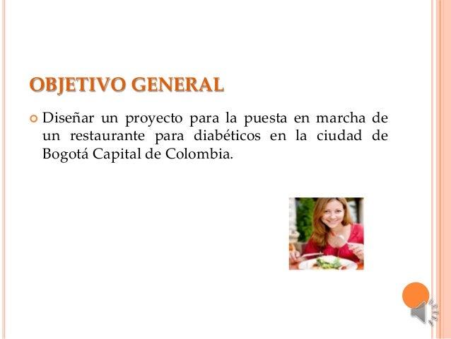 proyecto restaurante para diabeticos
