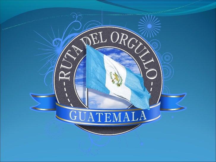 Proyecto Ruta del Orgullo al 05-oct-2012