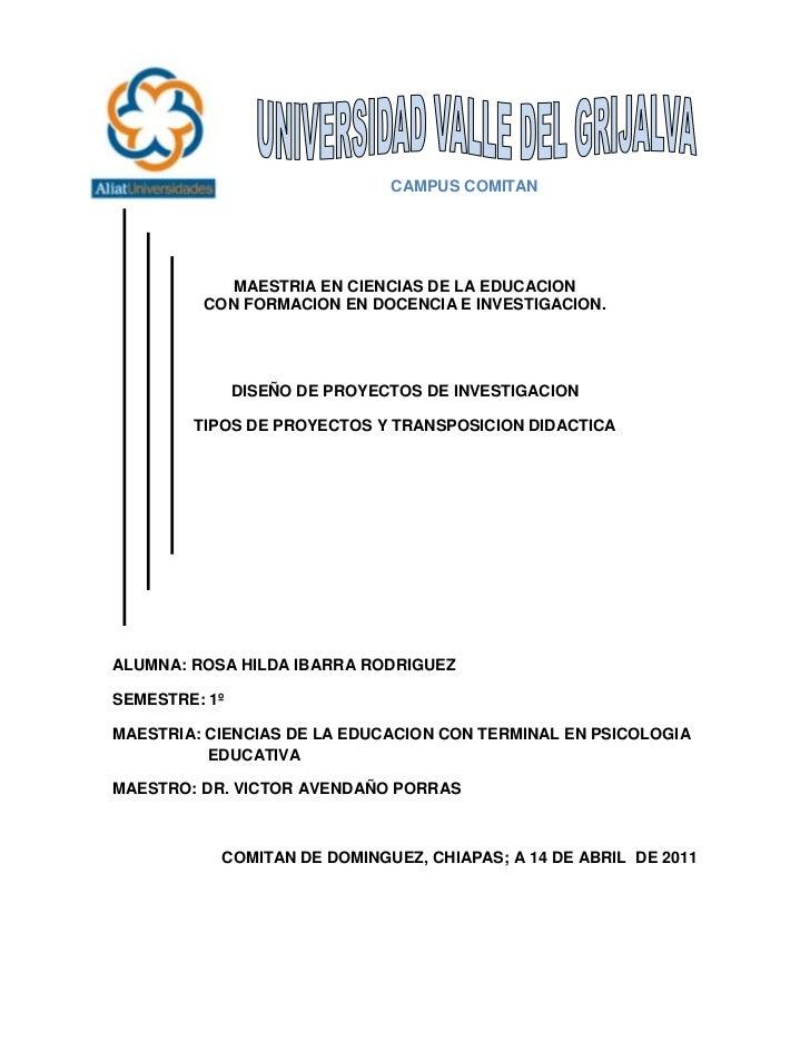 -228600-457200<br />                           CAMPUS COMITAN <br />MAESTRIA EN CIENCIAS DE LA EDUCACION<br />CON FORMACIO...