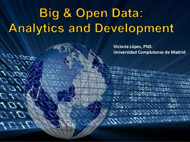 Big & Open Data: Analytics and Development