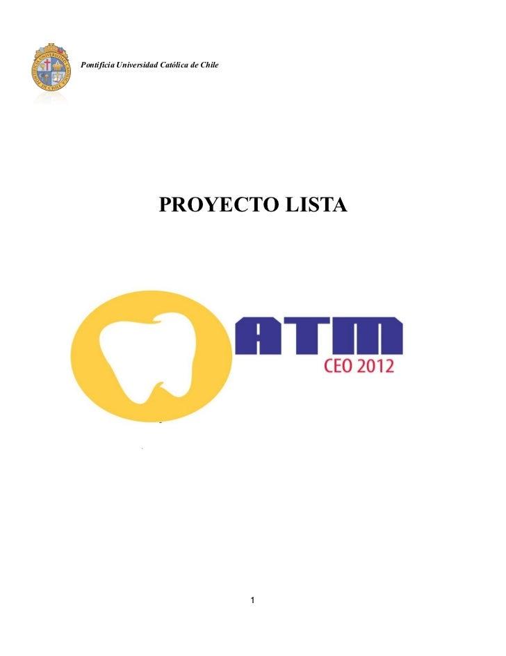 Proyectos CEO 2012