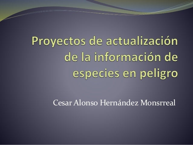 Cesar Alonso Hernández Monsrreal