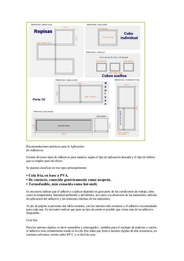 Programas Diseño Muebles : Proyectos para fabricar muebles con melamina