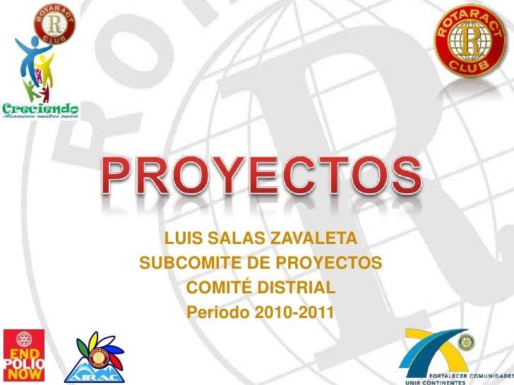 Proyectos rotaract