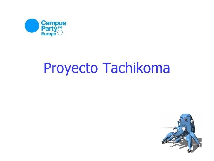 Proyecto Tachikoma