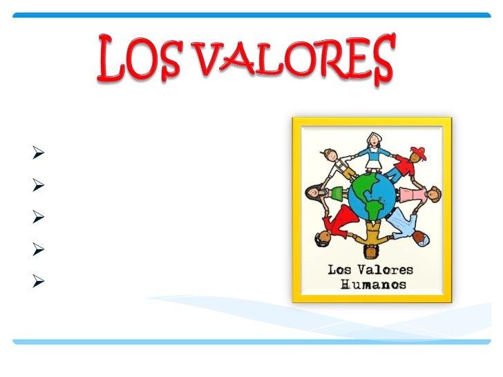 <ul><li>LA RESPONSABILIDAD </li></ul><ul><li>LA HONESTIDAD </li></ul><ul><li>EL RESPETO </li></ul><ul><li>LA TOLERANCIA </...
