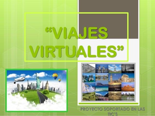 Proyecto viajes virtuales