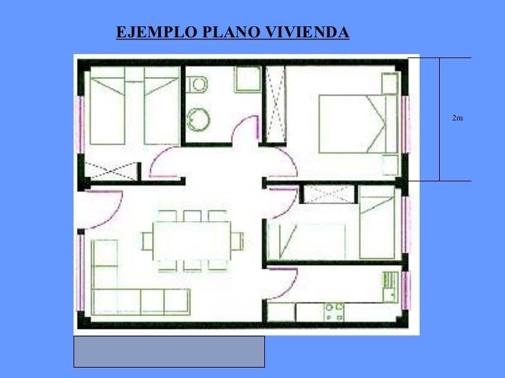Instalacion electrica en las viviendas for Plano vivienda