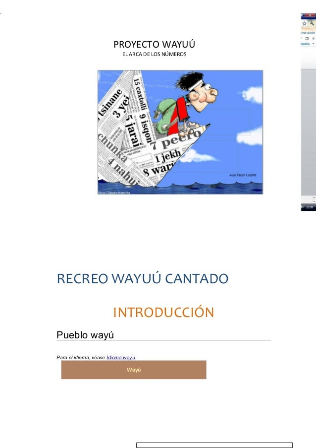 Proyecto wayuú