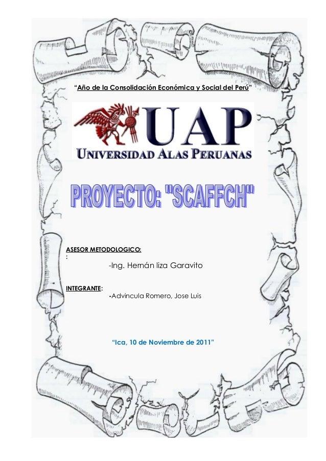 Proyecto web   advincula romero