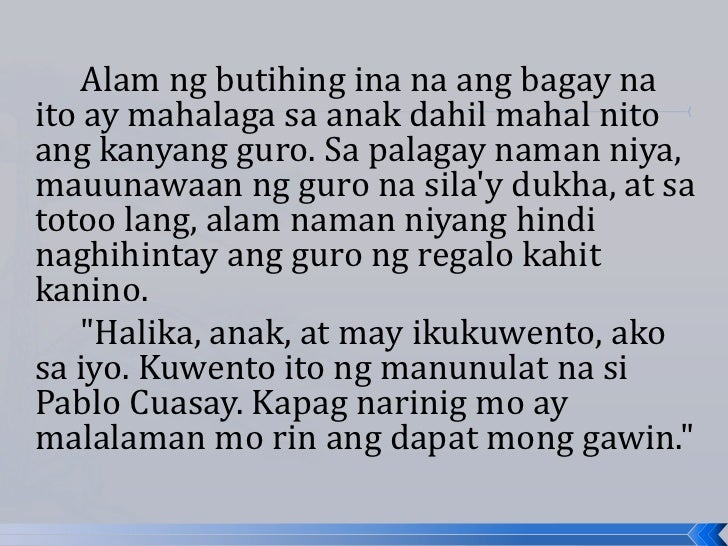 Tagalog ng essay