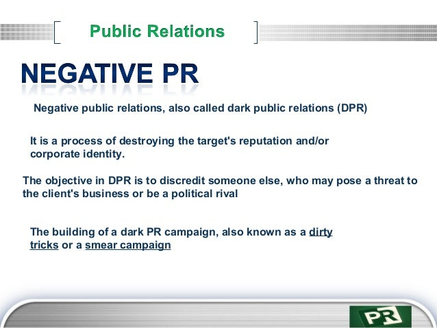Public relations introduction