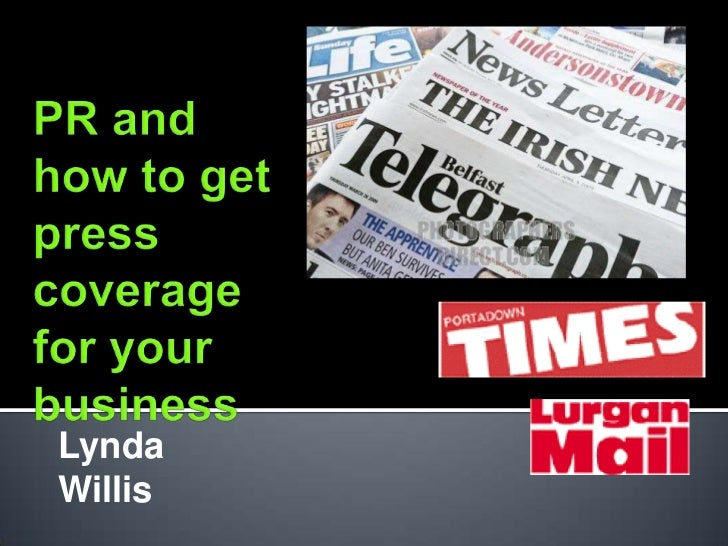 PR and how to write a press release