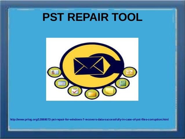 Outlook pst repair software