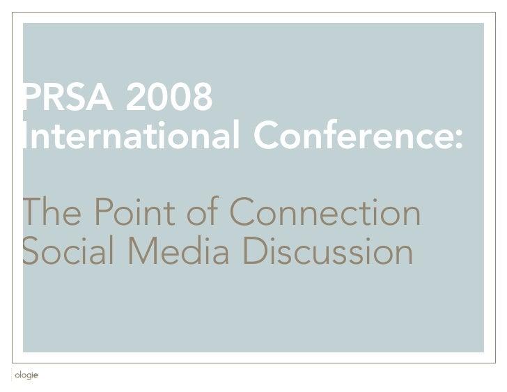 PRSA Conf Social Media Q&A