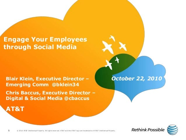 ENGAGE Your Employees Through Social Media (PRSA Dallas Morning Keynote)