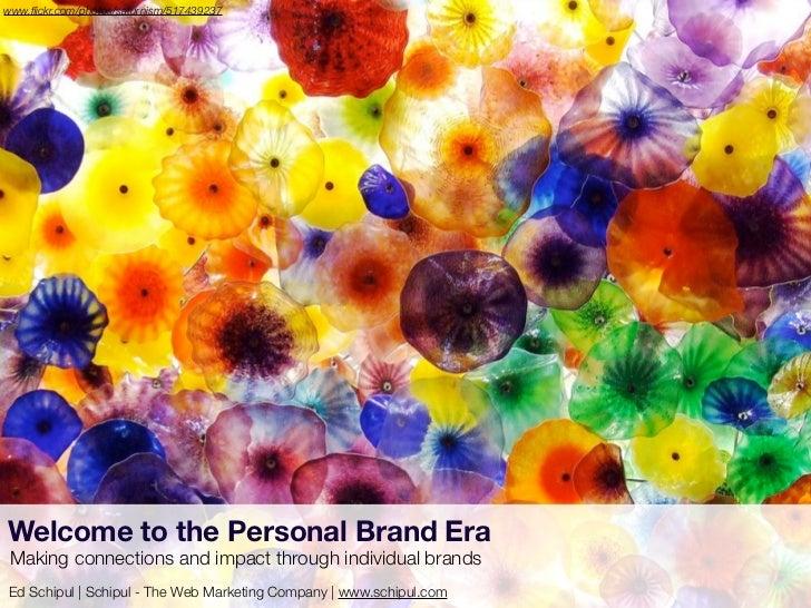 PRSA Georgia Personal Brand Era talk by Ed Schipul