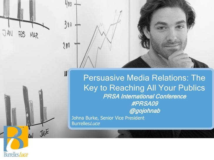Persuasive Media Relations: The Key to Reaching All Your Publics