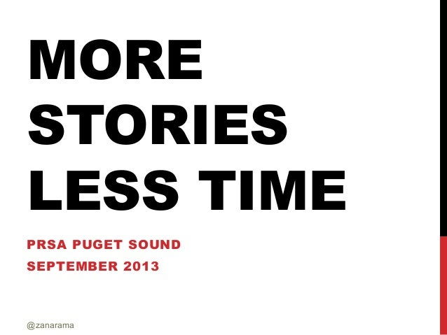 More Stories in Less Time
