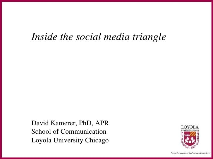 Inside the social media triangle