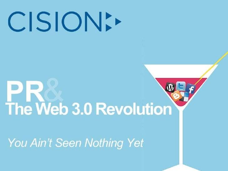 PRSA Int'l. Conf. 2010: PR & The Web 3.0 Revolution