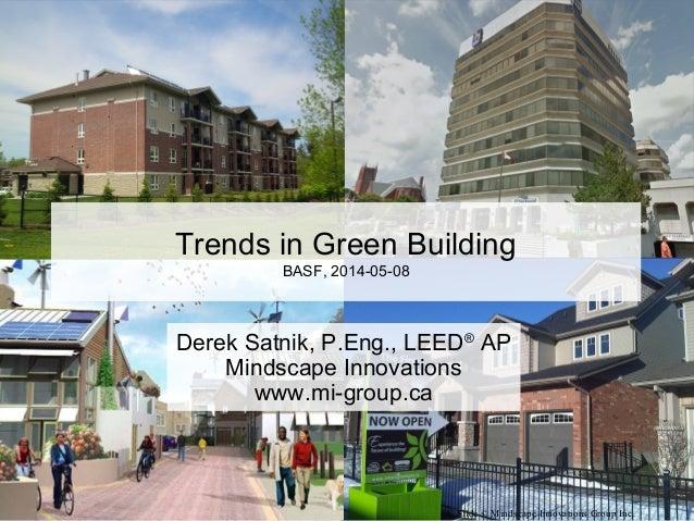 Trends in Green Building