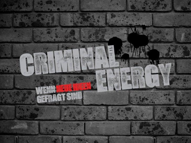 Criminal Energy, Axel Petermann, TEDxBerlin2011